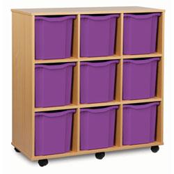 9 Jumbo Tray Storage Unit
