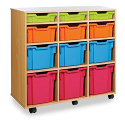 12 Variety Tray Storage Unit - Vertical