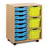 8 Shallow & 3 Extra Deep Tray Storage Unit - MEQ5000