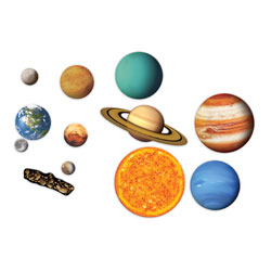 Giant Magnetic Solar System - by Learning Resources [LER6040 , SC00665]