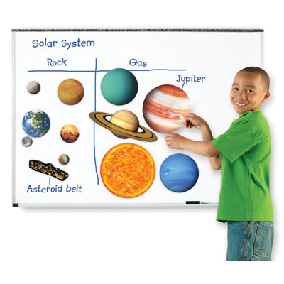 Giant Magnetic Solar System - by Learning Resources - LER6040