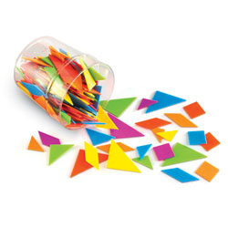 Brights! Tangrams Classpack - by Learning Resources