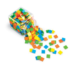 Brights! Colour Tiles (400 Pieces) - by Learning Resources [LER3553]