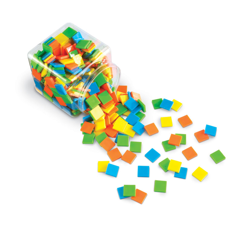 Brights! Colour Tiles (400 Pieces) - by Learning Resources - LER3553