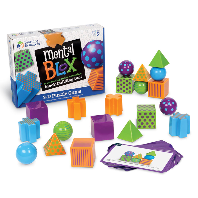 Mental Blox Critical Thinking Game - by Learning Resources - LER9280