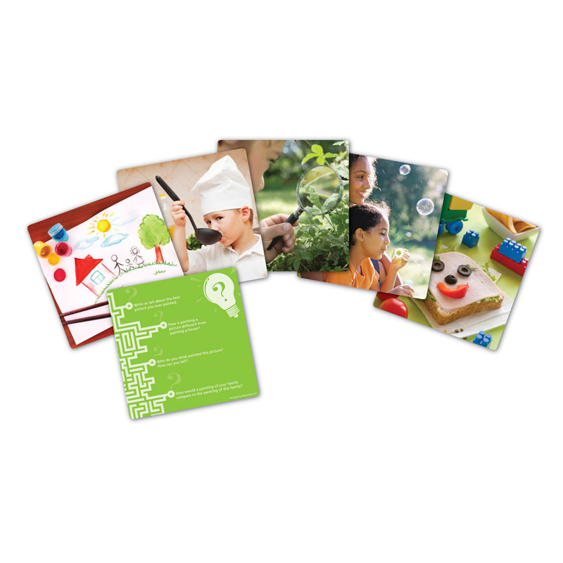 Snapshots Critical Thinking Photo Cards - Set 1 - by Learning Resources - LER9281