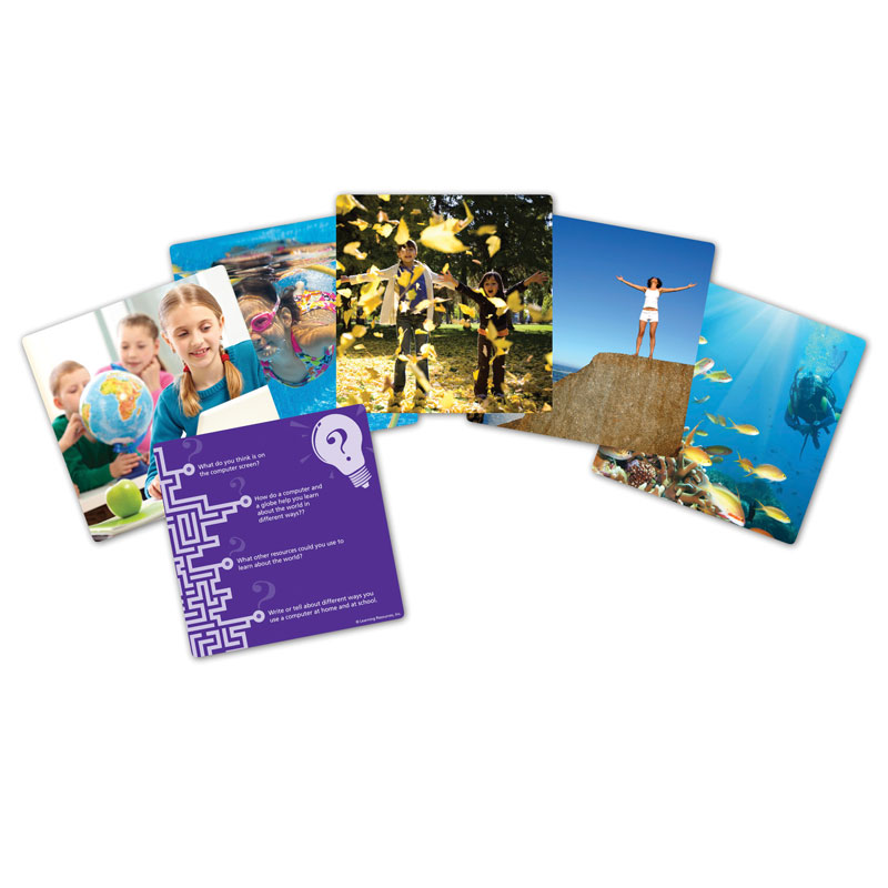 Snapshots Critical Thinking Photo Cards - Set 2 - by Learning Resources - LER9282