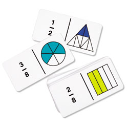 Rainbow Fraction Dominoes - by Learning Resources [LSP2500-UKM]