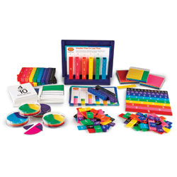 Great Value Rainbow Fraction Teaching System Kit - by Learning Resources