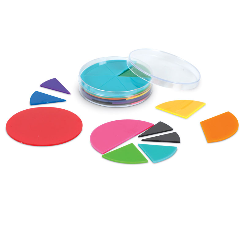 Rainbow Fraction Circles - by Learning Resources - LER0617