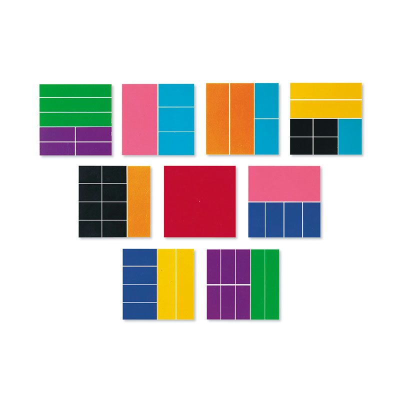 Rainbow Fraction Squares - by Learning Resources - LER0619
