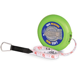 Tape Measure (10m) - by Learning Resources