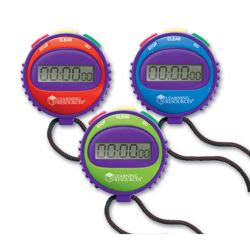 Simple Stopwatch (Single) - by Learning Resources - LER0808