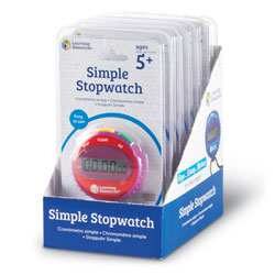 Simple Stopwatch (Set of 6) - by Learning Resources