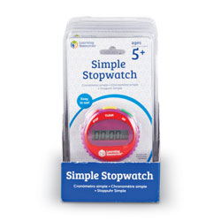 Simple Stopwatch (Set of 6) - by Learning Resources [LER0809]