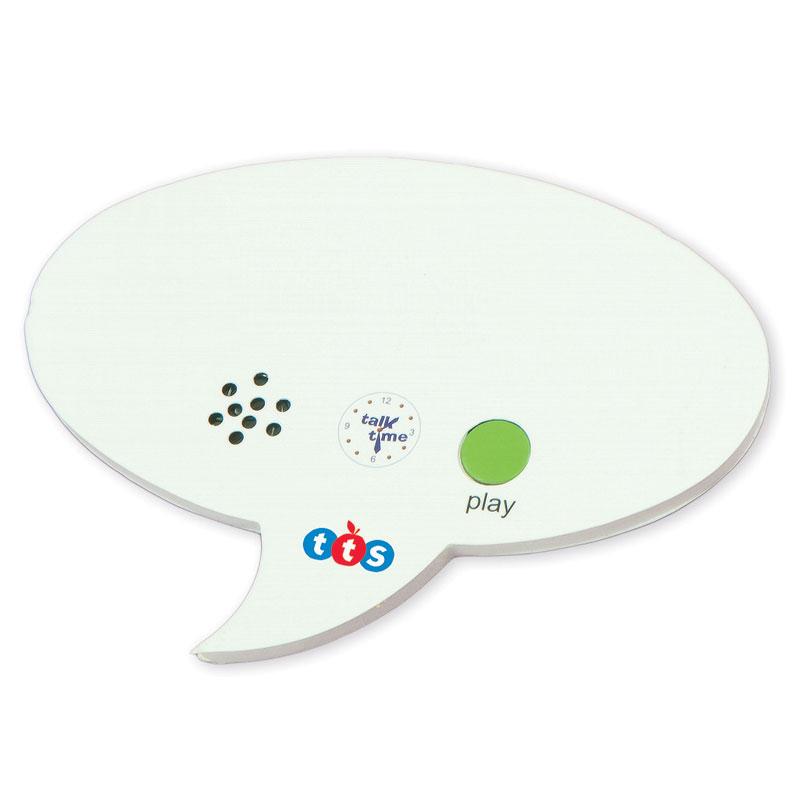 TTS Talk Time Mini Recordable Speech Bubble (Pack of 30) - EL00045