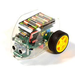 Pi2Go Raspberry Pi Programmable Floor Robot - Basic Kit (Robot & Software SD Card with Adapter)
