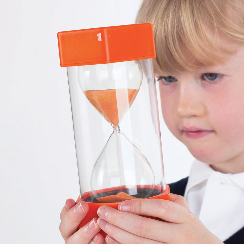 TickiT Large Sand Timer 10 Minute (Orange) - CD92019