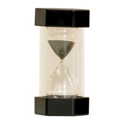 TickiT Large Sand Timer 30 Minute (Black)