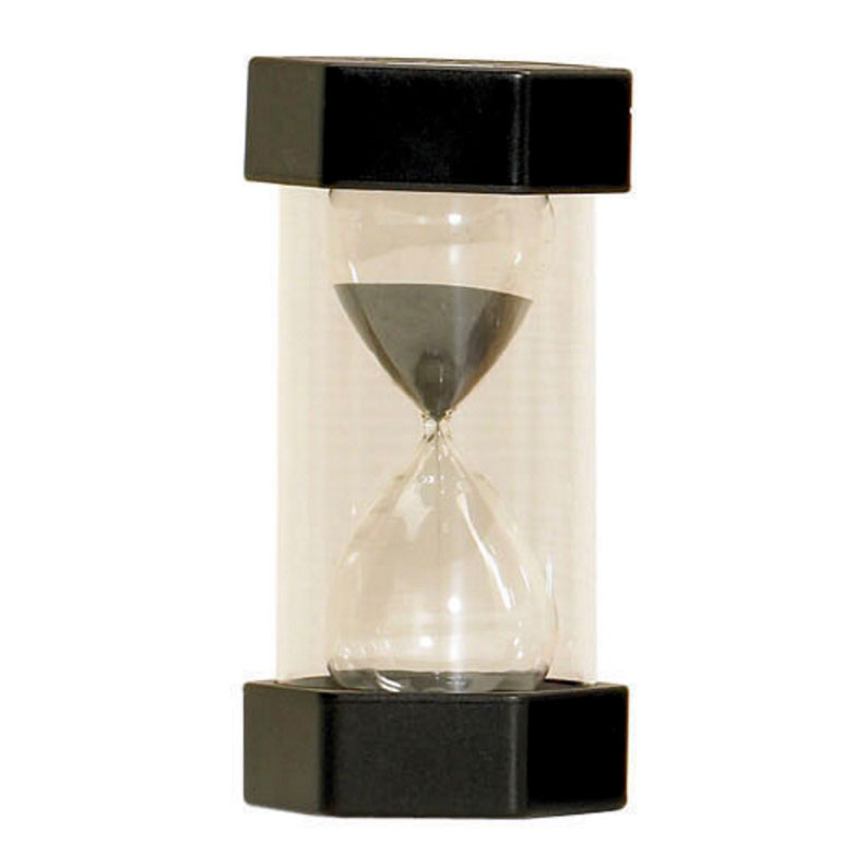 TickiT Large Sand Timer 30 Minute (Black) - CD92025