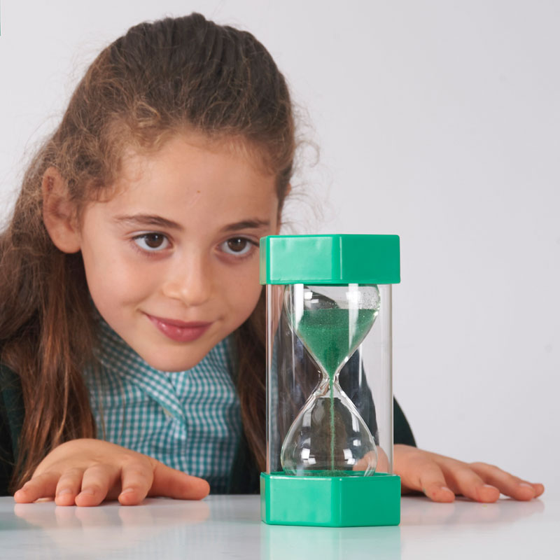 TickiT Large Sand Timer 1 Minute (Green) - CD92034