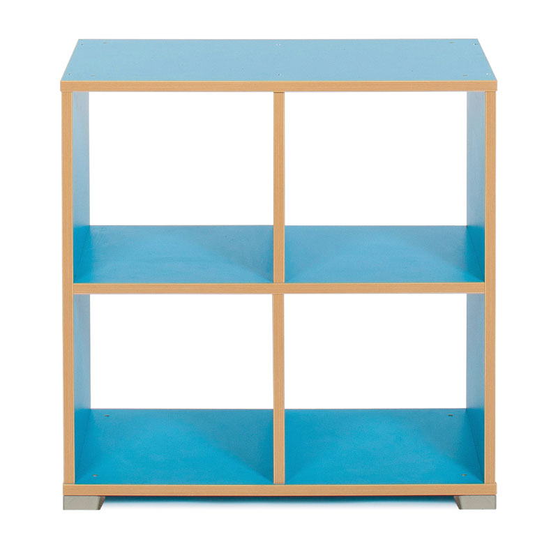 Bubblegum 4 Cube Backless Room Divider (Horizontal) - MEQ9021