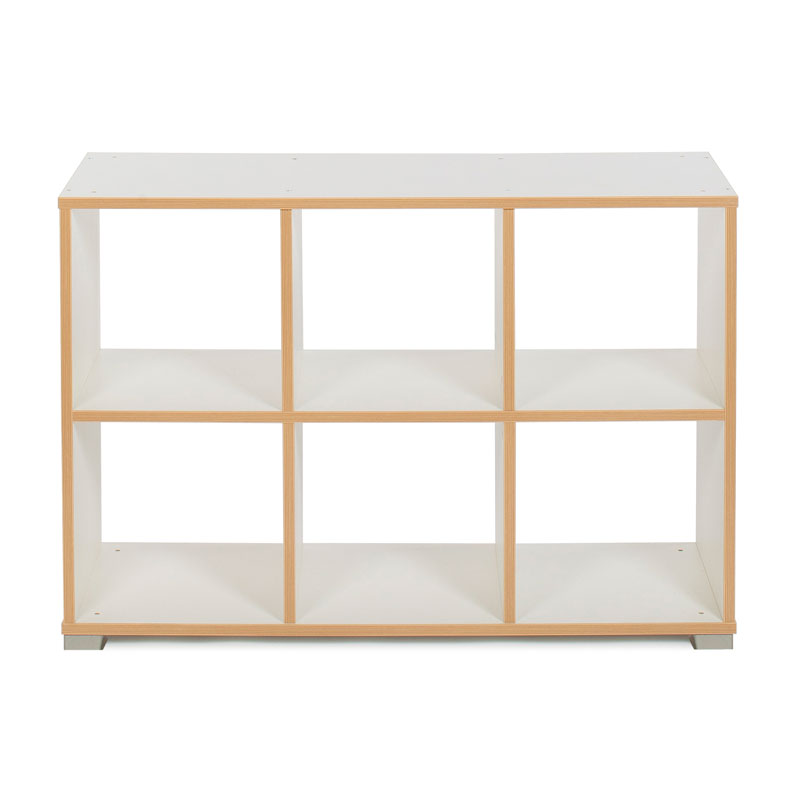 Bubblegum 6 Cube Backless Room Divider (Horizontal) - MEQ9022