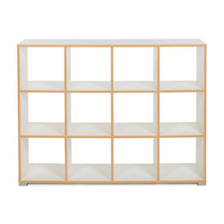 Bubblegum 12 Cube Backless Room Divider