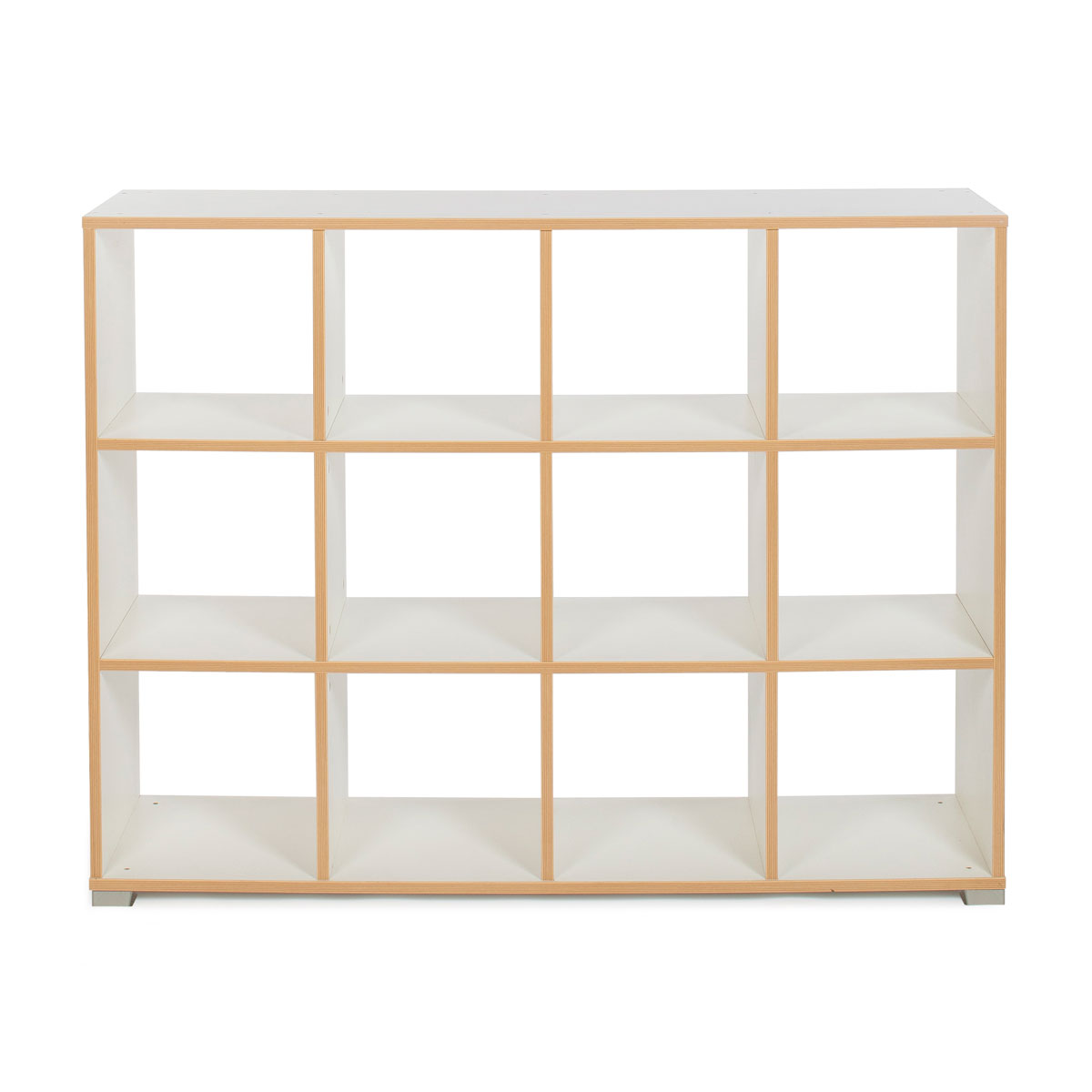 Cube room divider bush furniture ki10 kathy ireland for Ikea backless bookcase