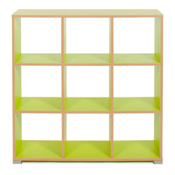 Bubblegum 9 Cube Backless Room Divider
