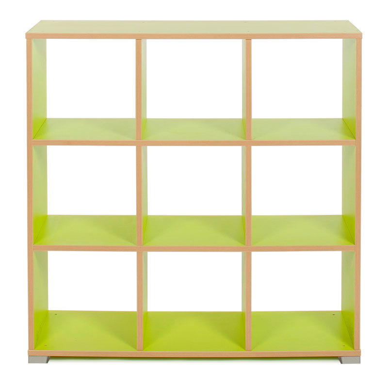 Bubblegum 9 Cube Backless Room Divider - MEQ9025