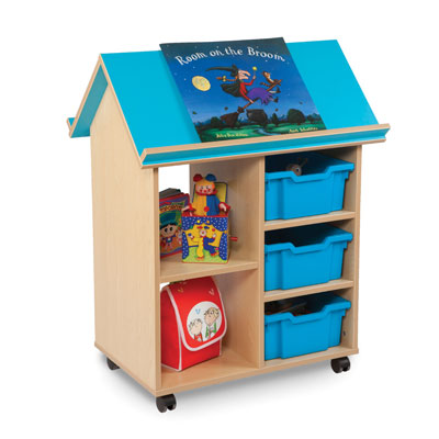 Bubblegum Book House with 3 Deep Trays - MEQ9000