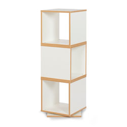 Bubblegum 360 Degree Swivel Storage - in White