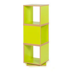 Bubblegum 360 Degree Swivel Storage - in Lime Green