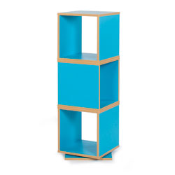Bubblegum 360 Degree Swivel Storage - in Cyan Blue