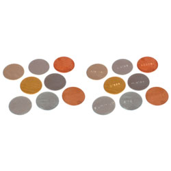 Stamped & Blank Metal Discs 25mm (Set of 16) - Mixed Magnetic and Non-Magnetic