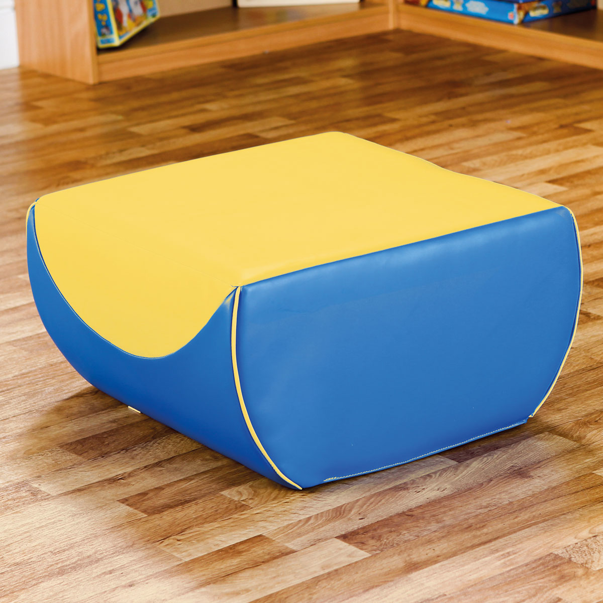 deco pouf blue yellow sp2206 by buy at primary ict for primary schools education. Black Bedroom Furniture Sets. Home Design Ideas