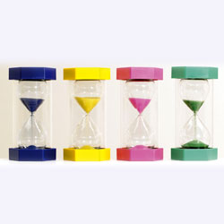 Mega Sand Timer Bundle (inc 1, 2, 3 and 5 minute) - Set of 4