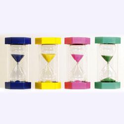 Mega Sand Timer Bundle (inc 1, 2, 3 and 5 minute) - Set of 4