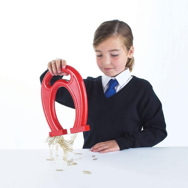 Giant Plastic Horseshoe Magnets - Pack of 6 - CD50019/6