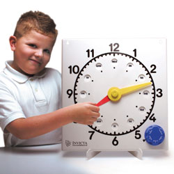 Invicta Teaching Clock - Non-Geared (Independently Moving Hands)