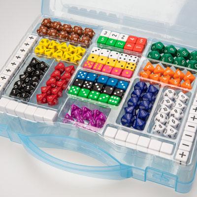 Polyhedra Dice Set - Set of 162 Dice - IP053459