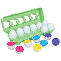 TickiT Colour Match Egg Set