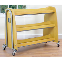 Tuf2 Single Lunchbox Trolley - Holds 30 Lunchboxes (Supplied Flat Packed) [FN0603]