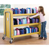 Tuf2 Double Lunchbox Trolley - Holds 60 Lunchboxes (Supplied Flat Packed) - FN0604