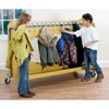 Tuf2 Classroom Cloakroom Trolley - Stores 30 Coats (Supplied Flat Packed) - FN0602