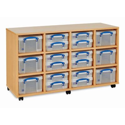 Really Useful Box Storage Unit - 18x Small / Medium Boxes - RUB1224