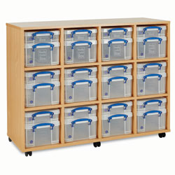 Really Useful Box Storage Unit - 24x Small / Medium Boxes