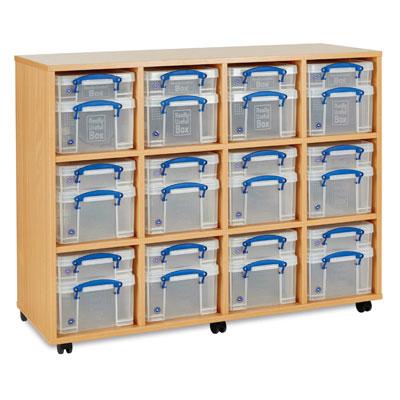 Really Useful Box Storage Unit - 24x Small / Medium Boxes - RUB012
