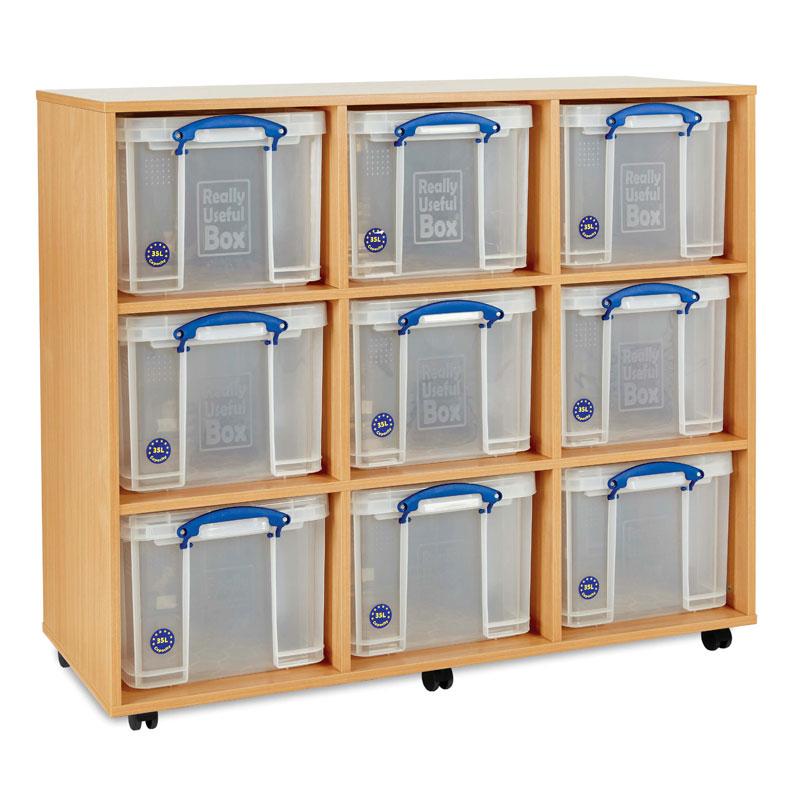 Really Useful Box Storage Unit - Extra Large Boxes - RUB035